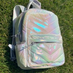 LAUNDRY by Shelli Segal iradescent backpack setNWT